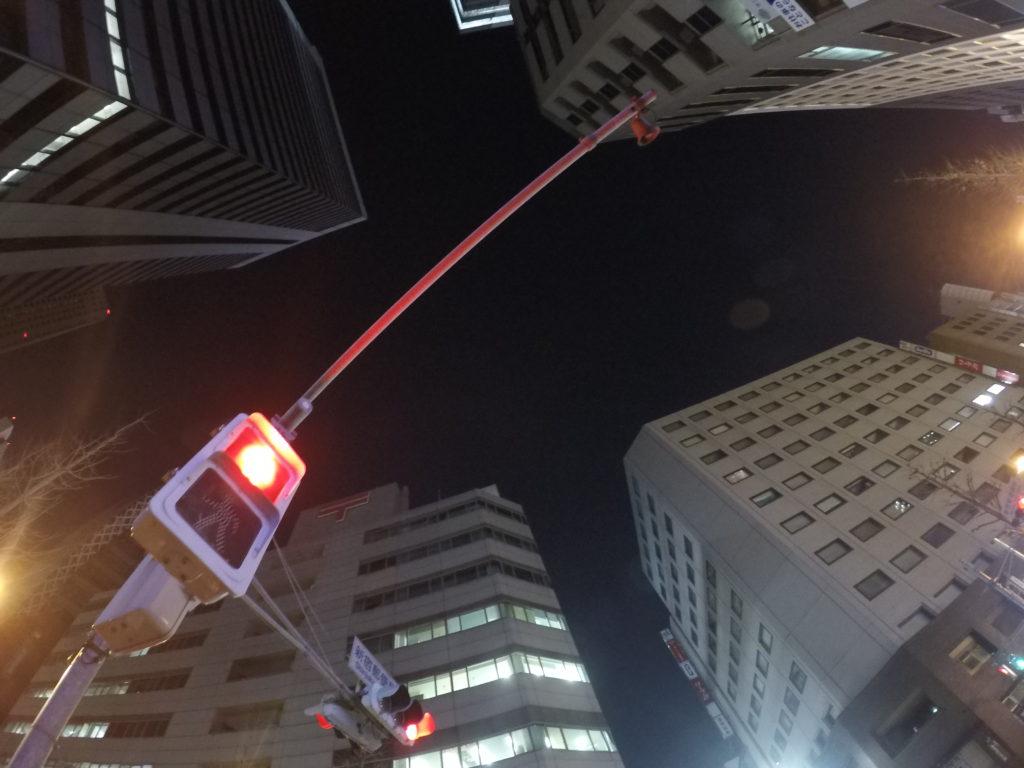 夜間のGoPro HERO5の写真